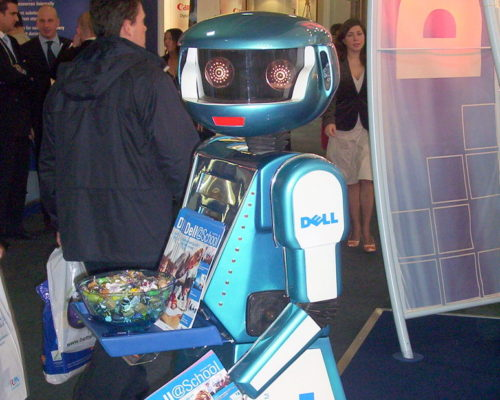 Promotional exhibition robot hire and rental